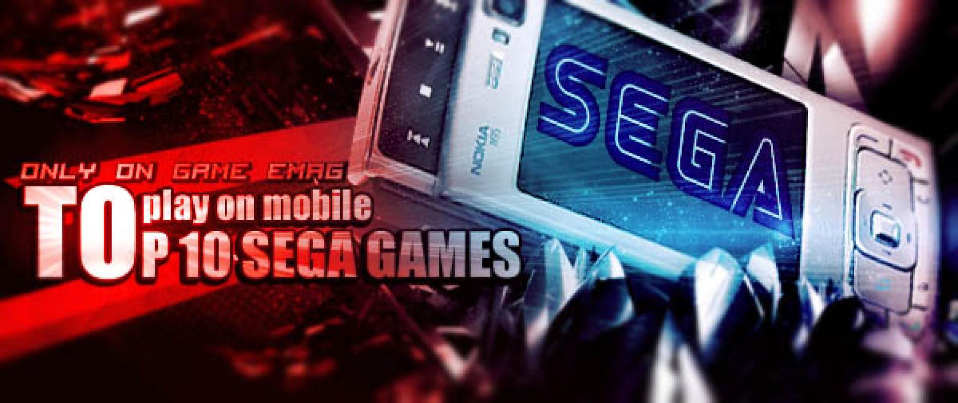 ۱۰ بازی برتر سگا، برای موبایل