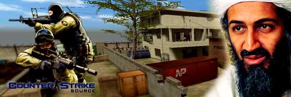 بن لادن در کانتر استرایک
