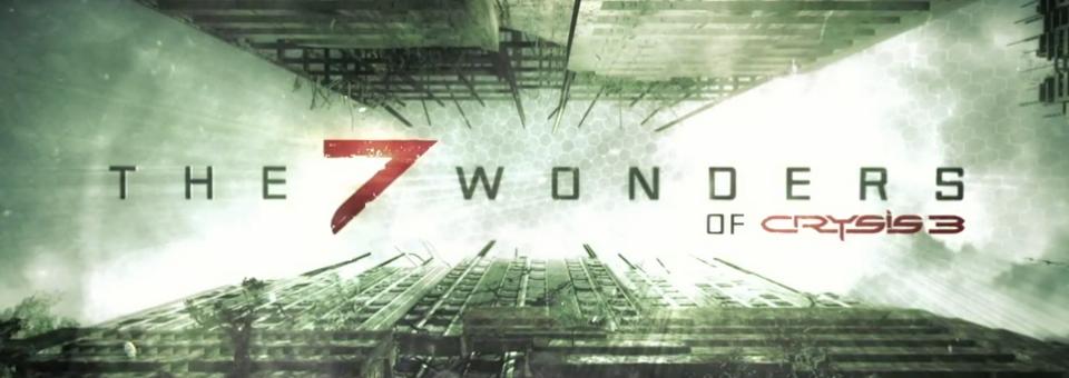 crysis3 7 wonders