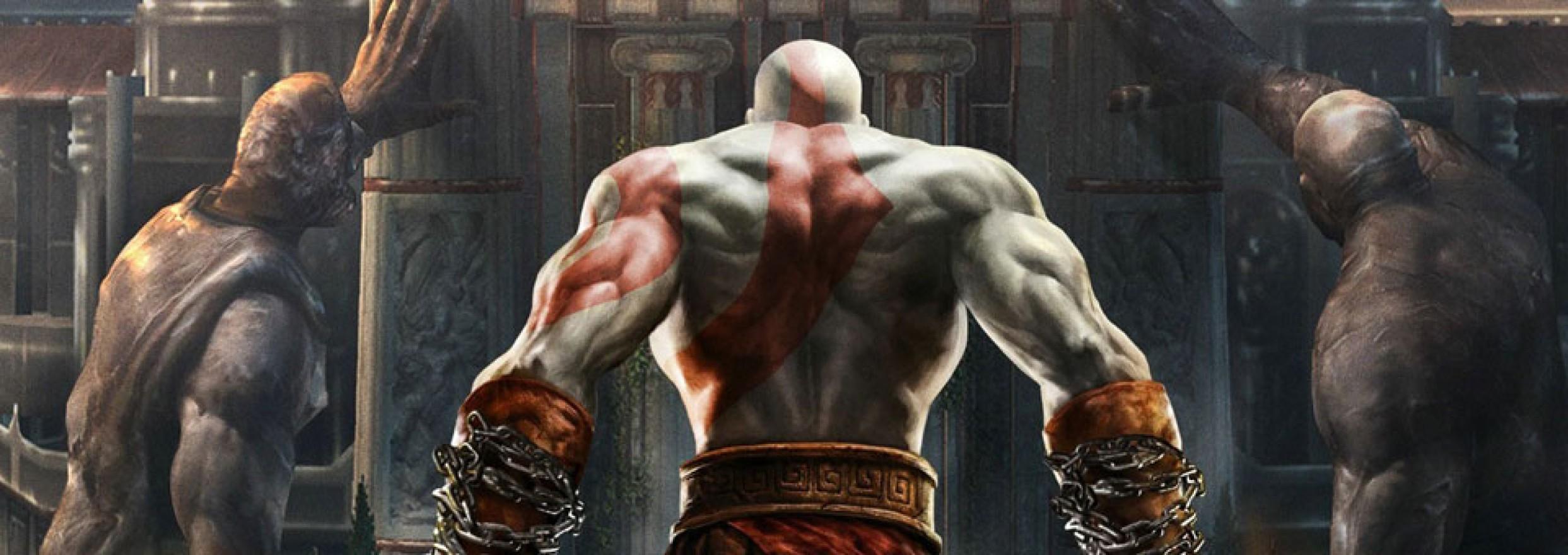 صحنه های سینمایی God of War