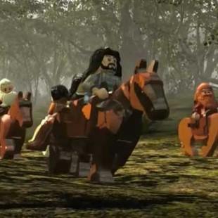 تریلر اولیه از بازی Lego Hobbit