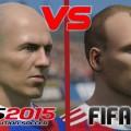 مقایسه ی گرافیکی FIFA 15 و PES 2015