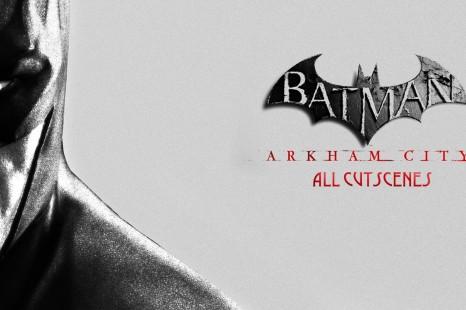 Batman: Arkham City Full Movie All Cutscenes