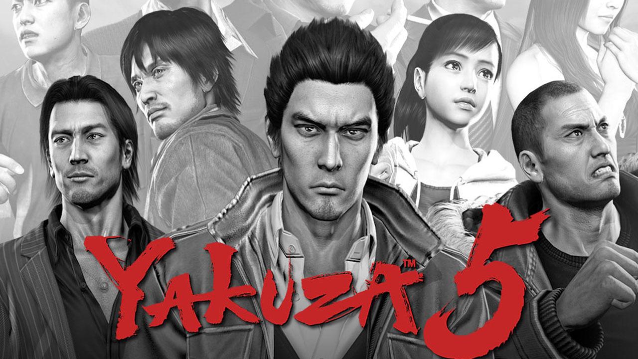 بازی Yakuza 5 در Gamescom 2015