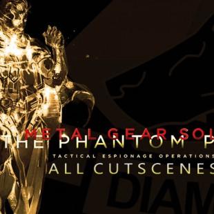 Metal Gear Solid V: The Phantom Pain Full Movie All Cutscenes