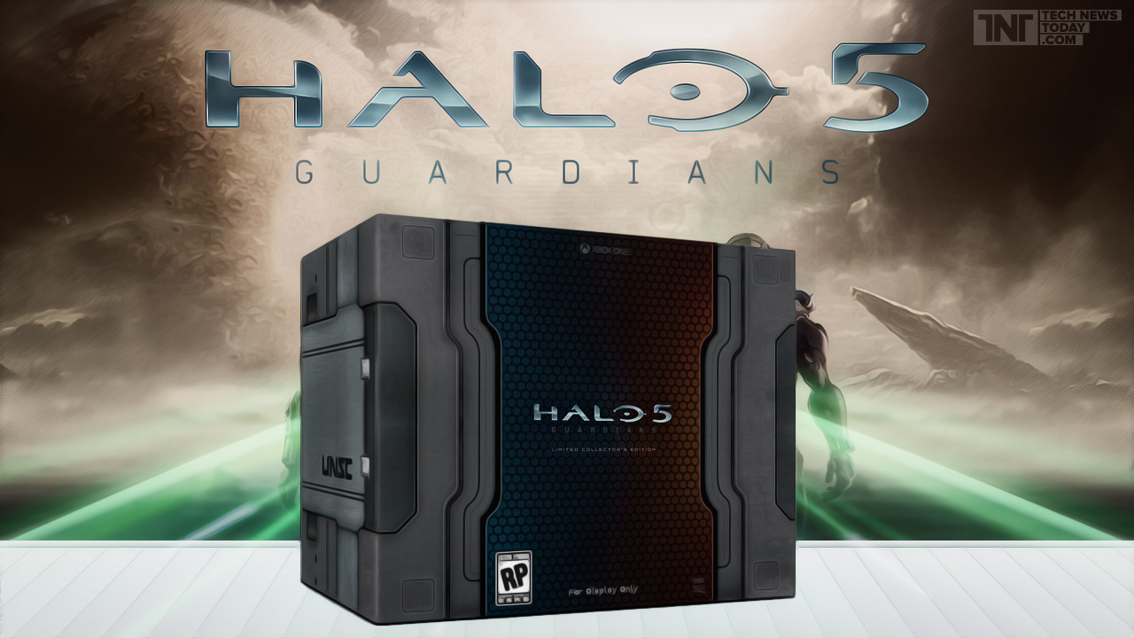 جعبه گشایی Halo 5 Collectors Edition
