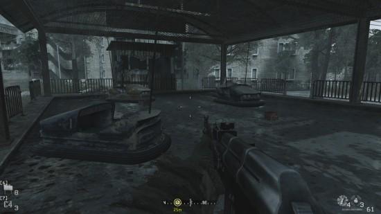 dodgems 550x309 نگاهی بر یکی از مراحل خاطره انگیز سری Call of Duty