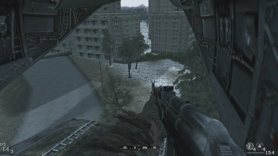 heli view 550x309 نگاهی بر یکی از مراحل خاطره انگیز سری Call of Duty