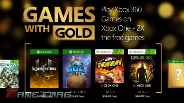 xbox games with gold january 1 600x337 NewsWeek | دنیای گیم در یک هفته – مهمترین اخبار هفته ی اول دی