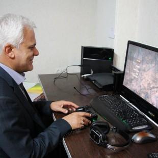 بازدید سردار طلایی از بنیاد ملی بازی های رایانه ای