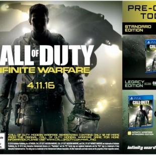 تیزر بازی Call Of Duty: Infinite Warefare