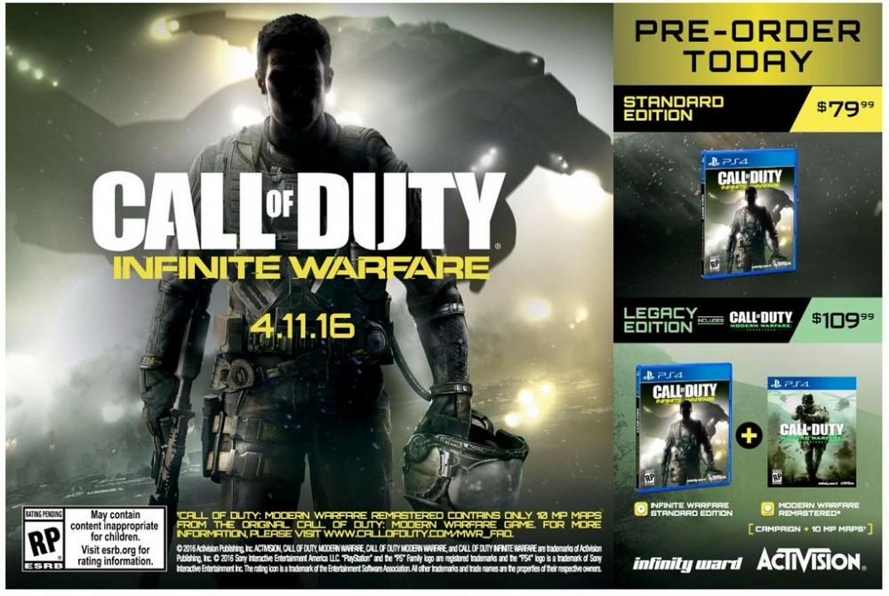 Call Of Duty: Infinite Warefare