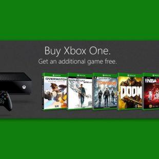 Xbox One بخرید، بازی رایگان ببرید!