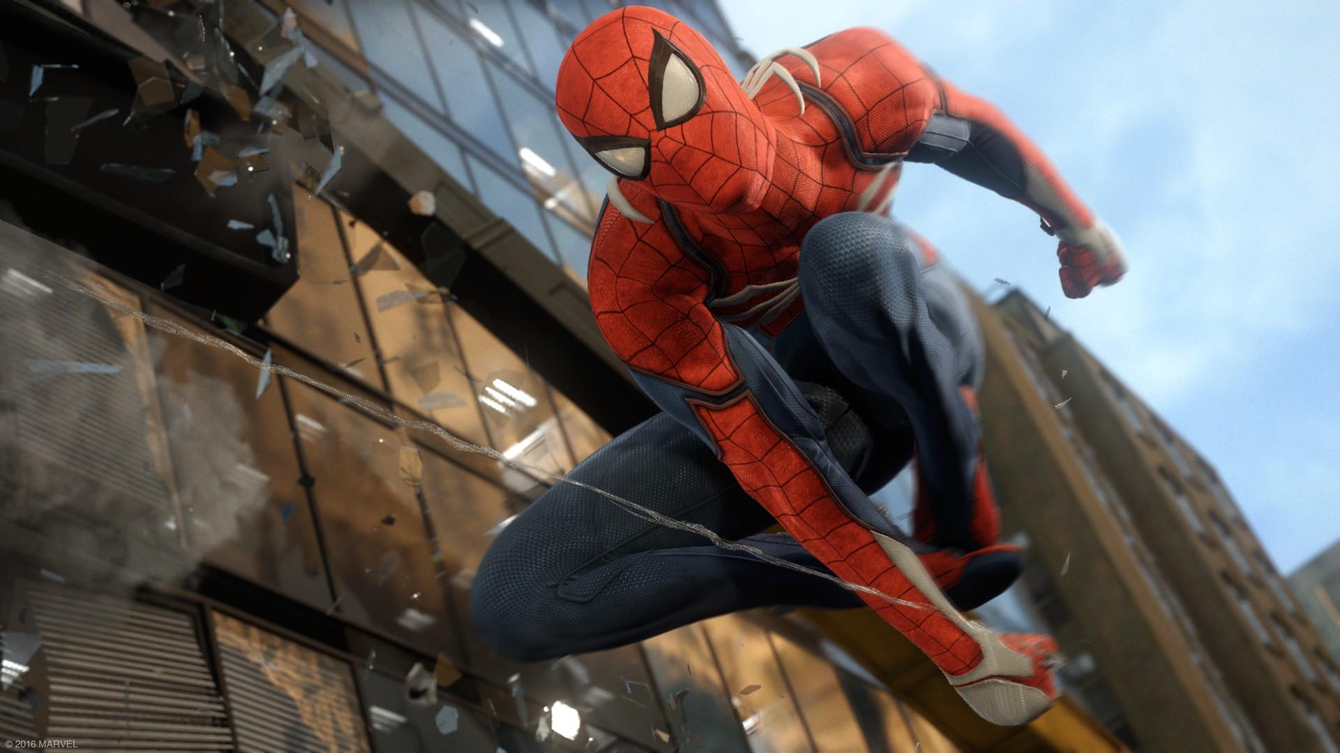 E3 2016 - تریلر معرفی Spiderman