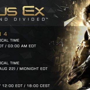 تاریخ عرضه Deus Ex: Mankind Divided