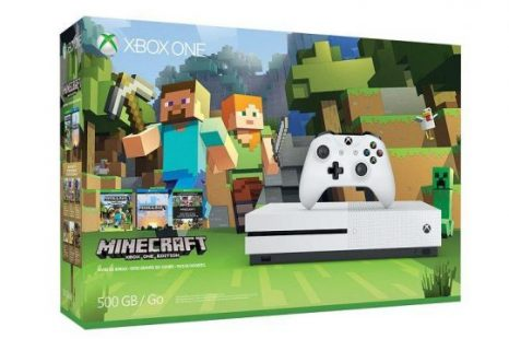 باندل جدید Xbox One S Minecraft Favorites bundle