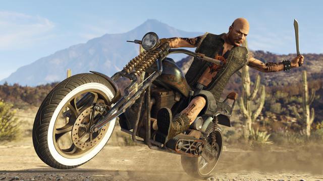 DLC بازی GTA Biker