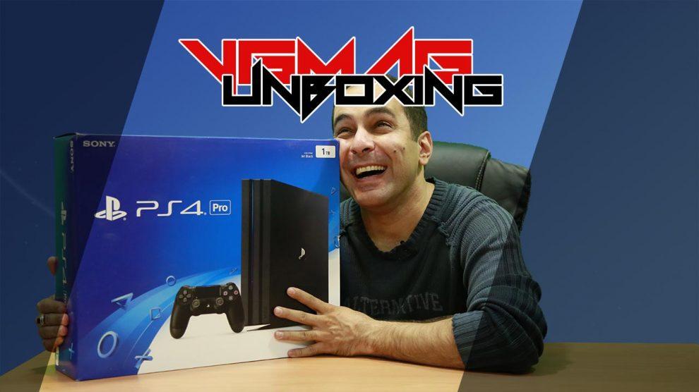 آنباکسینگ PlayStation 4 Pro