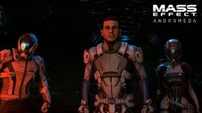 صداگذاران Mass Effect: Andromeda