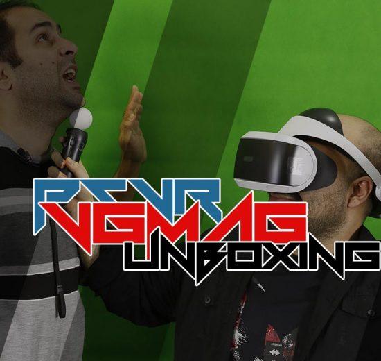 آنباکسینگ PlayStation VR