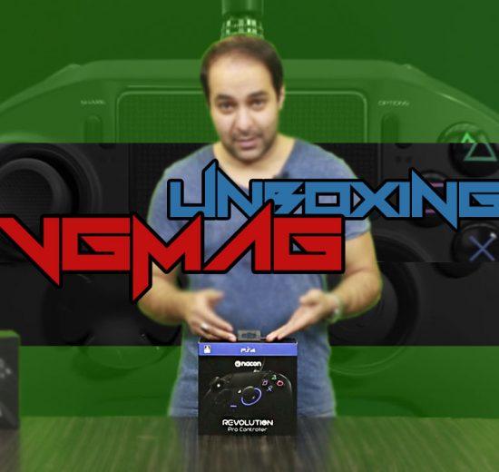 آنباکسینگ Nacon Revolution Pro Controller