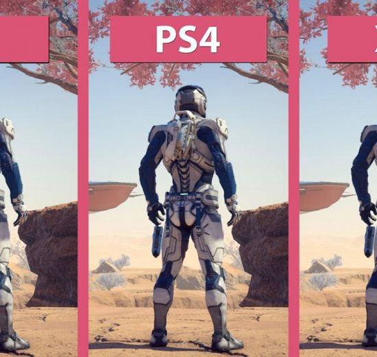 مقایسه گرافیکی Mass Effect Andromeda
