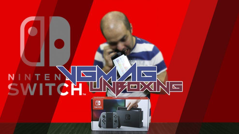 آنباکسینگ Nintendo Switch