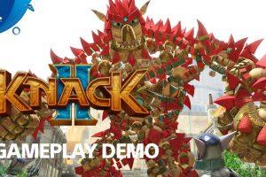 15 دقیقه از گیمپلی بازی Knack 2 در E3 2017