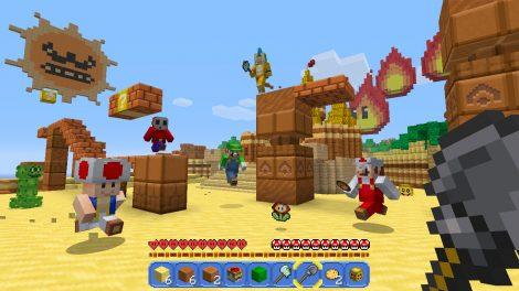 رزولوشن بازی Minecraft نسخه Nintendo Switch بعد از بروزرسانی جدید افزایش یافت