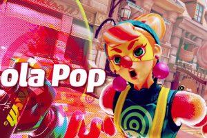 تماشا کنید: شخصیت Lola Pop برای حضور در بازی ARMS معرفی شد
