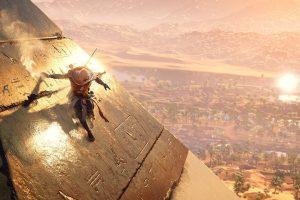 دنبال شدن بخشهایی از Assassin's Creed Origins در زمان حال