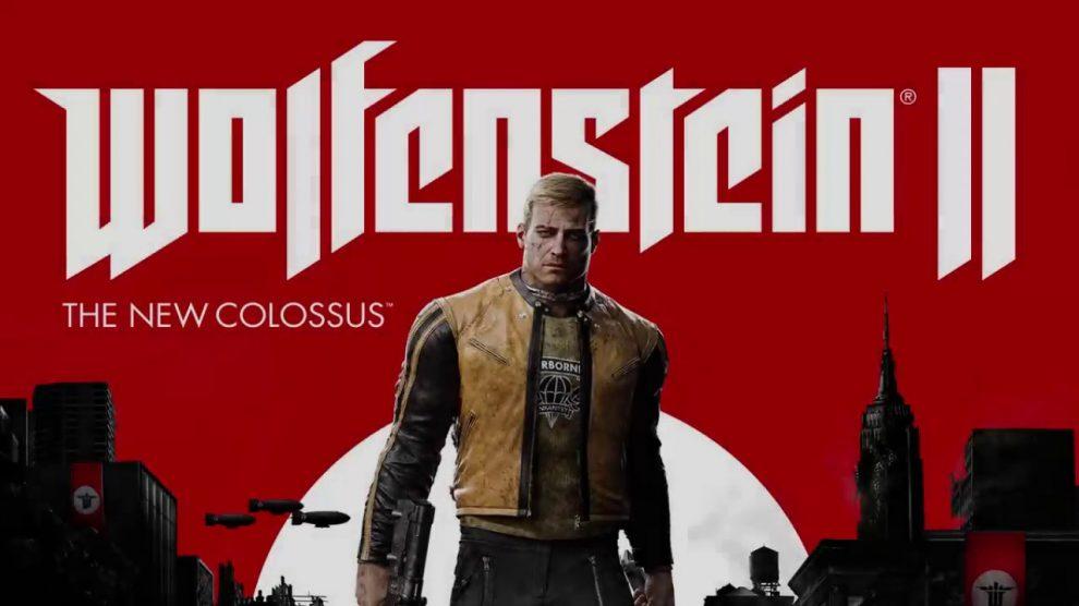 کاور ثانویه Wolfenstein 2 The New Colossus لو رفت