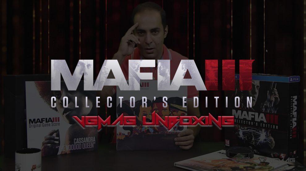 آنباکسینگ Mafia 3 Collectors Edition - وی جی مگ