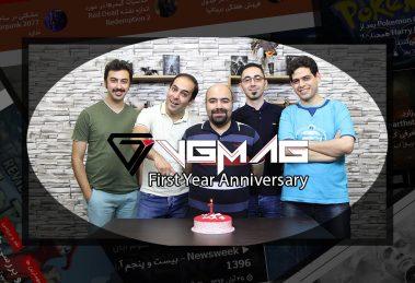 VGMAG یک ساله شد