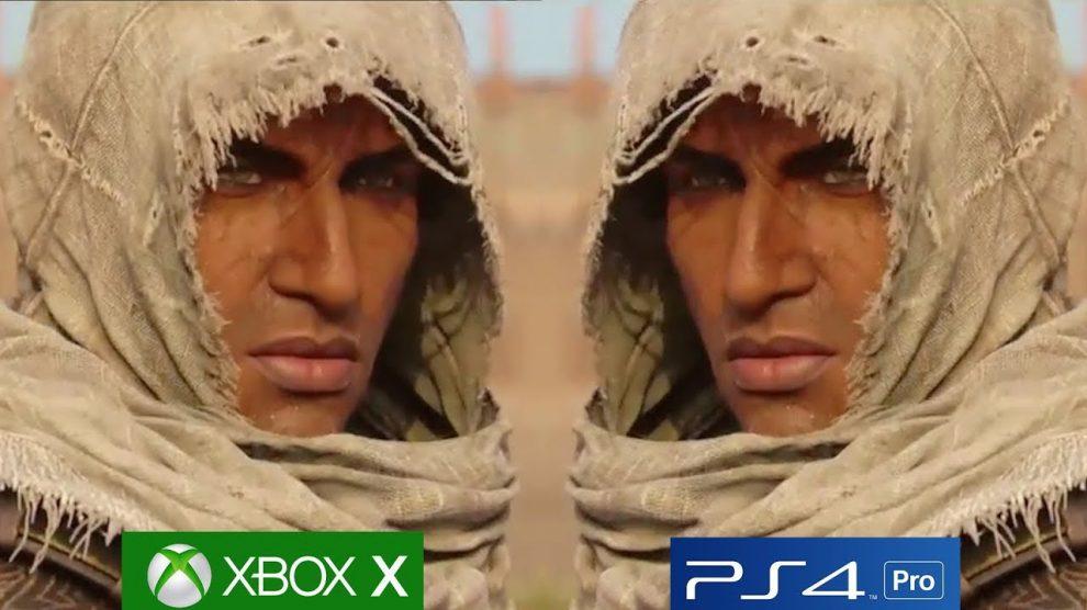 تماشا کنید: مقایسه گرافیکی Assassin's Creed Origins روی Xbox One X و PS4 Pro