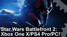 مقایسه گرافیکی Star Wars Battlefront 2 روی کنسولهای میان نسلی و PC