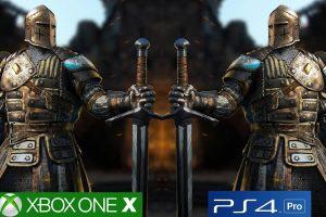 تماشا کنید: مقایسه گرافیکی For Honor روی Xbox One X و PS4 Pro