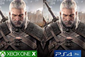 تماشا کنید: مقایسه گرافیکی The Witcher 3 روی PS4 Pro و Xbox One X