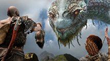 تصویر کنترلر Dualshock 4 با طرح God of War
