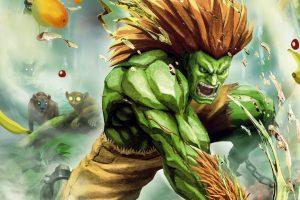 تماشا کنید: گیمپلی شخصیت Blanka در Street Fighter 5 Arcade Edition