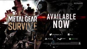 تماشا کنید: تریلر لانچ Metal Gear Survive