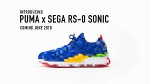همکاری Puma و Sega برای طراحی کتونی Sonic