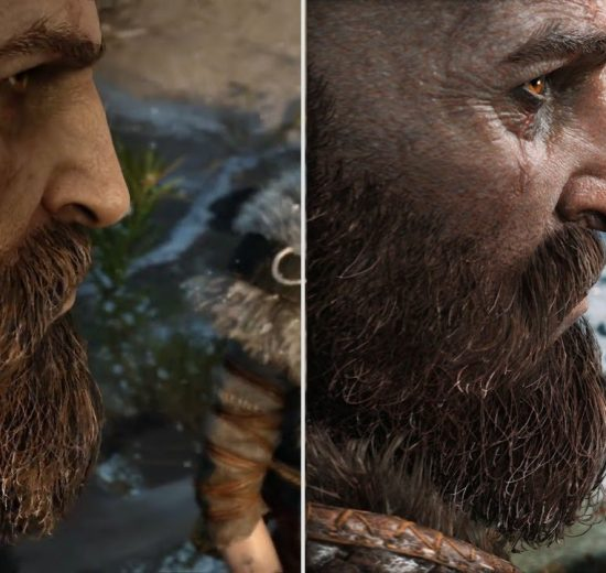 مقایسه گرافیکی God of War
