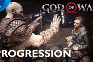 پیشرفت در God of War