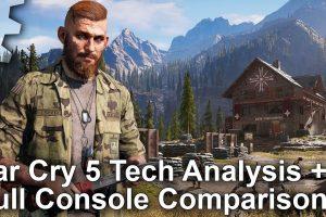 تماشا کنید: مقایسه گرافیکی نسخههای کنسولی Far Cry 5