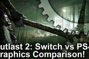 تماشا کنید: مقایسه گرافیکی Outlast 2 روی Switch و PS4