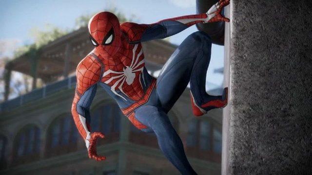 تبلیغ بزرگ و دیواری Spider-Man برای E3 2018