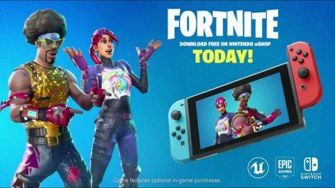 تماشا کنید: انتشار بازی Fortnite برای Nintendo Switch