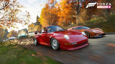 بازی Forza Horizon 4 از تکنولوژیهای Froza Motorsport استفاده میکند