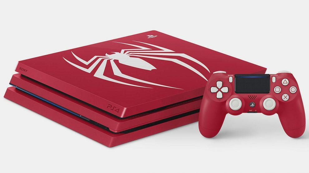 استقبال فوقالعاده مخاطبها از PS4 Pro با طرح بازی Spider-Man